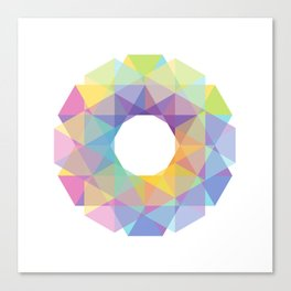 Fig. 036 Colorful Circle Canvas Print