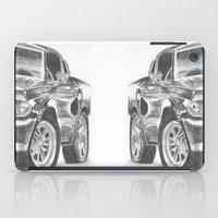 mustang iPad Cases featuring Mustang by WNN Creations