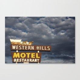 Western Hills- Horizontal Canvas Print