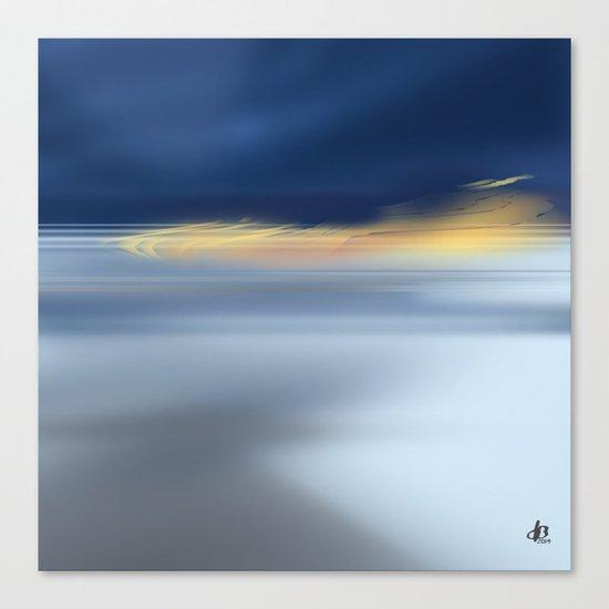 Midnight Sea Canvas Print