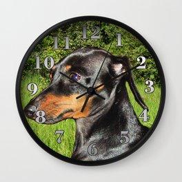 Dog Dachshund Doxie Wall Clock