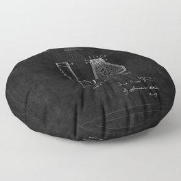 Lava Lamp Patent 2 Floor Pillow