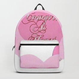 """""""Cowgirl At Heart II"""" Backpack"""
