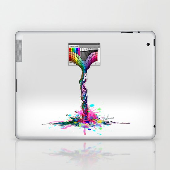 No more paintings, Photoshop it's broken! Laptop & iPad Skin