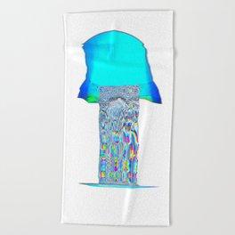 Indigo blast Beach Towel