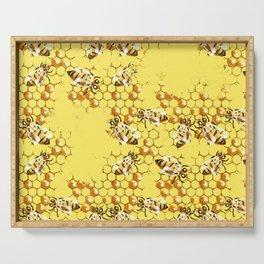 Honey Hive Serving Tray