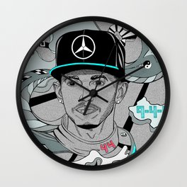 2017 The Year of the Silver Arrows Wall Clock