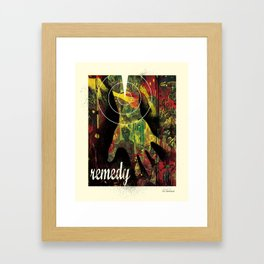 Remedy Framed Art Print