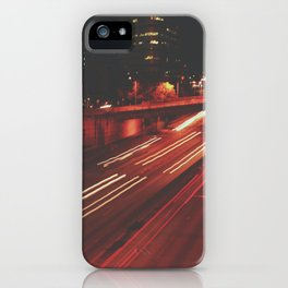 Red Light iPhone Case