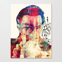 dali Canvas Prints featuring DALI by Art By MOP$