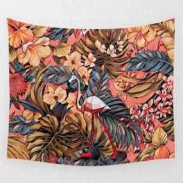 Flamingo Wall Tapestry