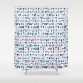 Plant collection Shower Curtain
