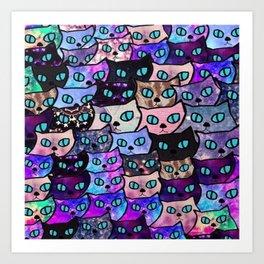 cats 24 Art Print