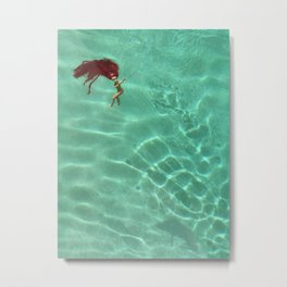 Sink or Swim Metal Print