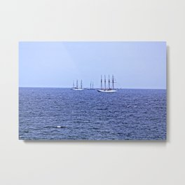 The Tall Ships Metal Print