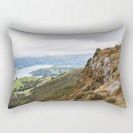 High Upon a Mountain Top, Akaroa, New Zealand Rectangular Pillow