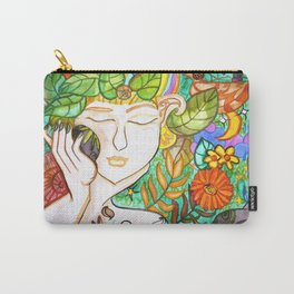 Earth Awakening Carry-All Pouch