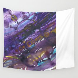 violet lake Wall Tapestry