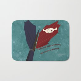 Toothless' Battle Flag Bath Mat