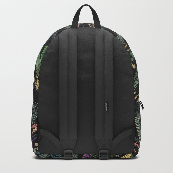 focus flowers Backpack