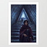 Triangle Hall Art Print
