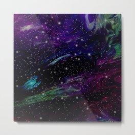 Inhabited space Metal Print