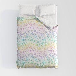 Rainbow Leopard Pattern Comforters