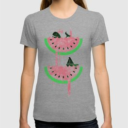 watermelon falls T-shirt