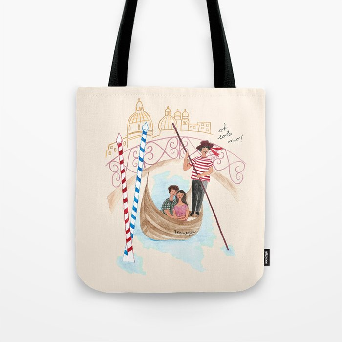O Sole Mio! Tote Bag