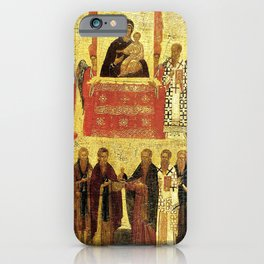 Triumph Of Orthodoxy Medieval Christianity iPhone Case