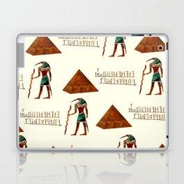 Ancient Secrets THOTH 3D Scifi Egyptian Laptop & iPad Skin