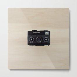 Rollei 35 T - vintage camera  Metal Print