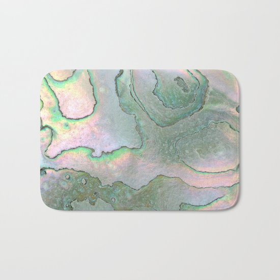 Shell Texture Bath Mat