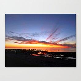 Spectacular Seaside Sunset Canvas Print