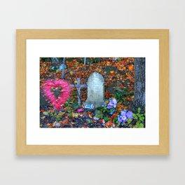 Loved Child Framed Art Print