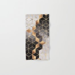 Smoky Cubes Hand & Bath Towel