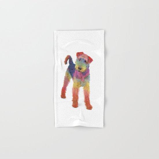 Airedale Terrier Hand & Bath Towel