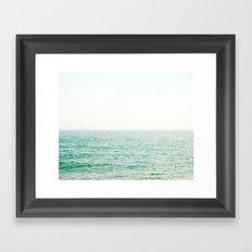 Ocean Ghost Ship Framed Art Print