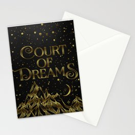 Court of Dreams Stationery Cards
