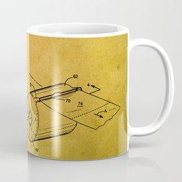 Toilet paper dispenser patent Coffee Mug