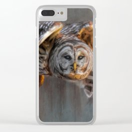 Sunset Hunt Clear iPhone Case