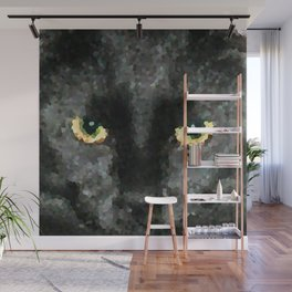 black cat Wall Mural