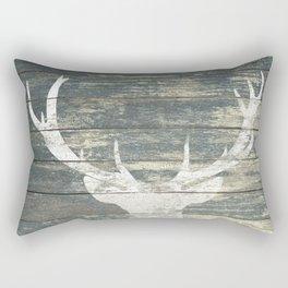Rustic Deer Silhouette A311 Rectangular Pillow