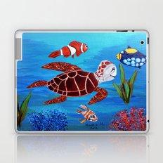 Swimming in the sea  Laptop & iPad Skin