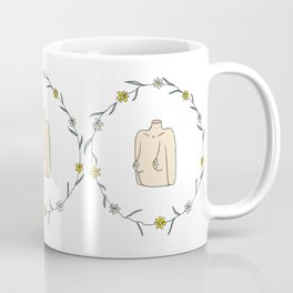 Flower Boobs Coffee Mug