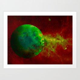 Planet Nvidia Art Print