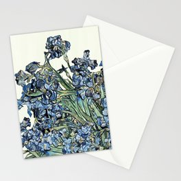 Play with Vincent's Irises Stationery Cards
