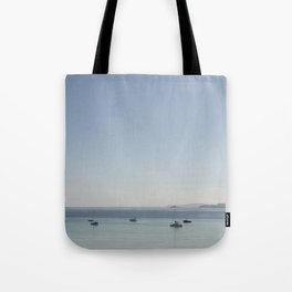 tranquil Morning over St. Ives bay, Cornwall Tote Bag