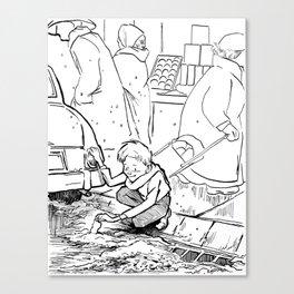 Cheer Up Charlie... Canvas Print
