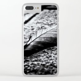 Autumn Memories Clear iPhone Case